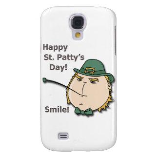 Sonrisa del Leprechaun del día del St Patty feliz