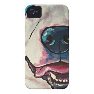 Sonrisa del matón carcasa para iPhone 4