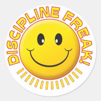 Sonrisa del monstruo de la disciplina