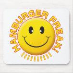 Sonrisa del monstruo de la hamburguesa
