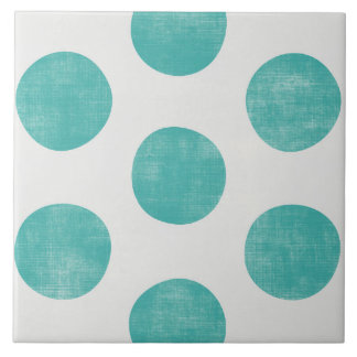 Sonrisa deliciosa confiable vibrante azulejo cuadrado grande