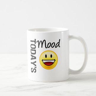 Sonrisa dentuda del Emoticon de hoy del humor Tazas