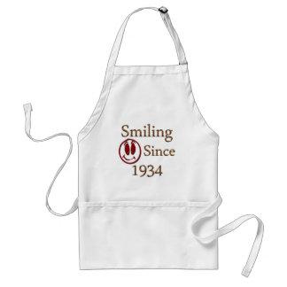 Sonrisa desde 1934 delantal