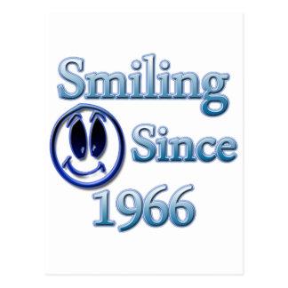 Sonrisa desde 1966 tarjetas postales