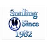 Sonrisa desde 1982 postales