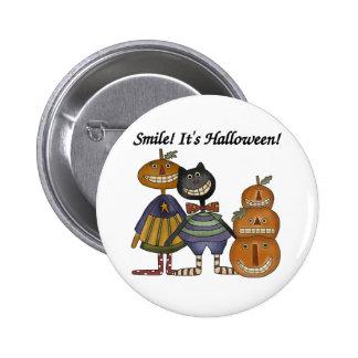 Sonrisa es Halloween Pins