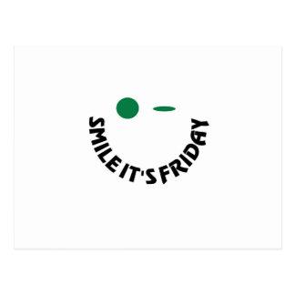 Sonrisa es viernes postal