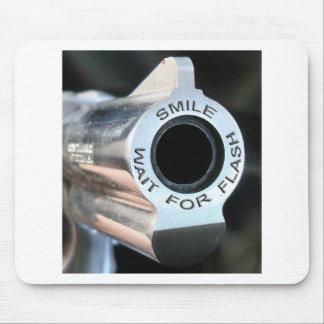 Sonrisa-espera para flash.jpg alfombrilla de ratón