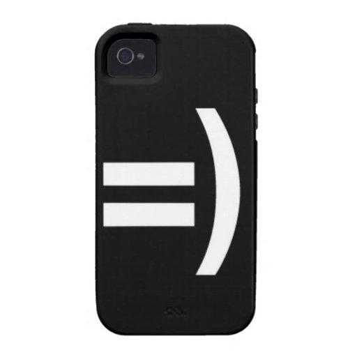 sonrisa feliz iPhone 4/4S funda
