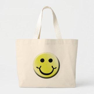 Sonrisa fresca bolsa tela grande