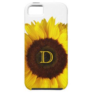 Sonrisa grande/girasol amarillo funda para iPhone 5 tough