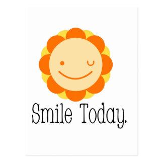 Sonrisa hoy postal