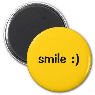 sonrisa:) imán