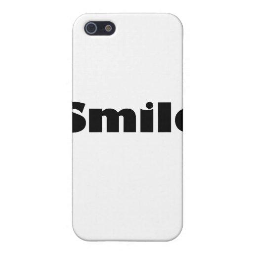Sonrisa iPhone 5 Carcasas