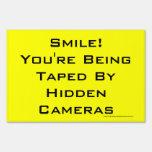 ¡Sonrisa! Las cámaras ocultadas le está grabando