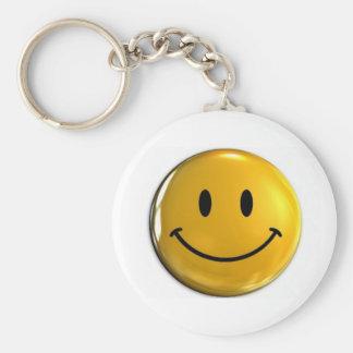 Sonrisa Llavero Redondo Tipo Pin