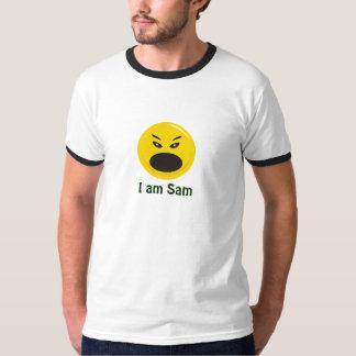 sonrisa mala, soy Sam (el personalizar) Camisas