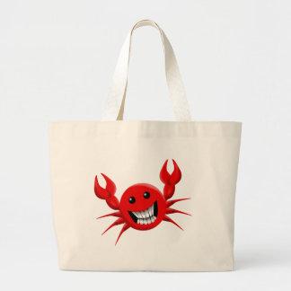 Sonrisa malhumorada bolsa de mano