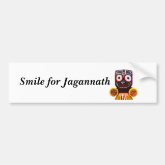 Sonrisa para la pegatina para el parachoques de Ja Etiqueta De Parachoque