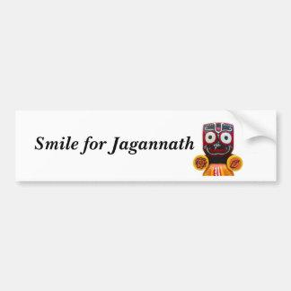 Sonrisa para la pegatina para el parachoques de Ja Pegatina Para Auto