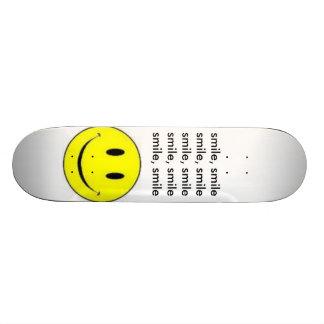 sonrisa tabla de skate
