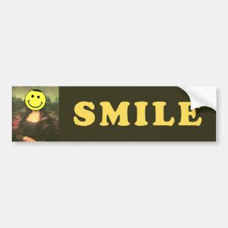 Sonrisa Pegatina Para Auto