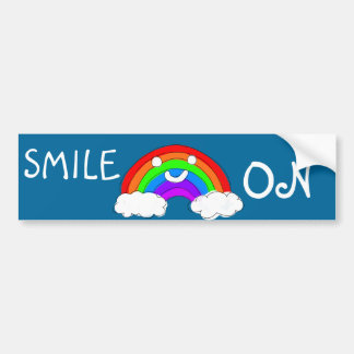 ¡Sonrisa! Pegatina para el parachoques Pegatina Para Auto