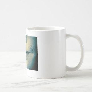 Sonrisa pintada taza