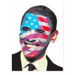 Sonrisa presidencial tarjeta postal