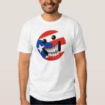 Sonrisa puertorriqueña playeras