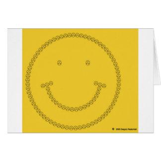 Sonrisa que frunce el ceño por Gregory Radomisli Tarjeta De Felicitación