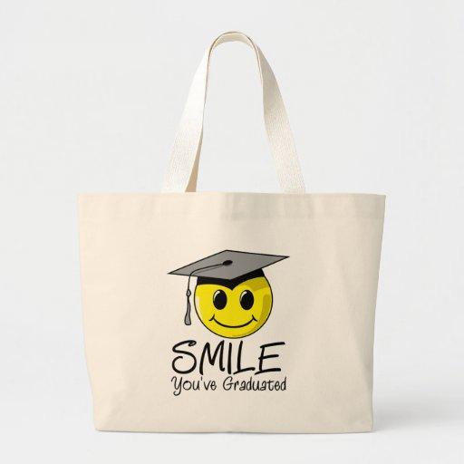 Sonrisa que usted ha graduado bolsas de mano