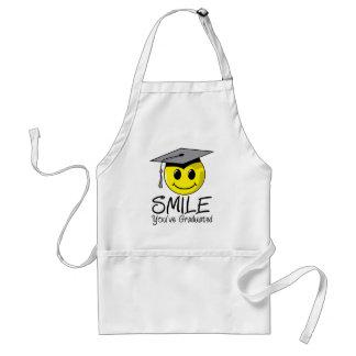 Sonrisa que usted ha graduado delantal