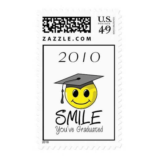 Sonrisa que usted ha graduado envio