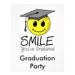 Sonrisa que usted ha graduado tarjetas publicitarias
