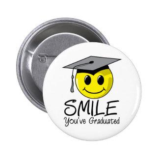 Sonrisa que usted ha graduado pin