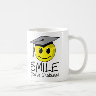 Sonrisa que usted ha graduado tazas de café