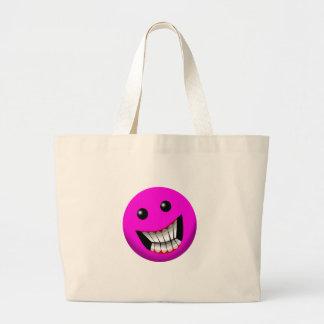 sonrisa rosácea bolsa de mano