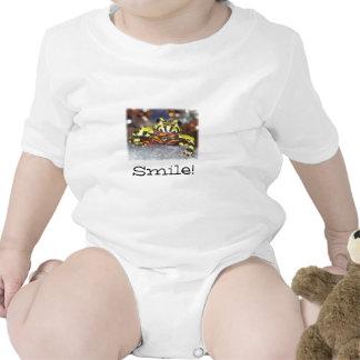 ¡Sonrisa!  Sapo del vientre del fuego Trajes De Bebé