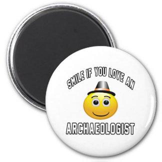 sonrisa si usted ama a un arqueólogo imán