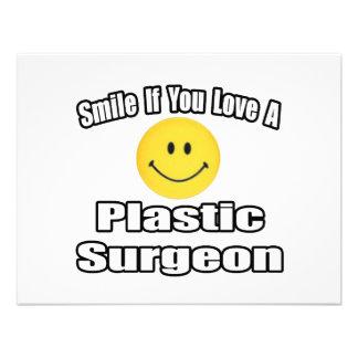 Sonrisa si usted ama a un cirujano plástico anuncios