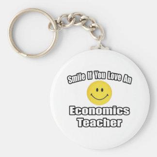 Sonrisa si usted ama a un profesor de la economía llavero