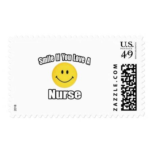 Sonrisa si usted ama a una enfermera envio