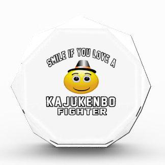 Sonrisa si usted ama el combatiente de Kajukenbo
