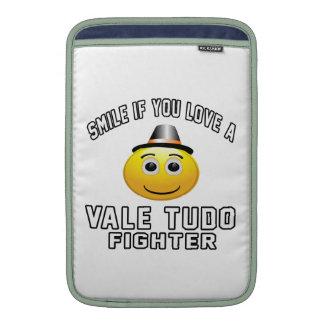 Sonrisa si usted ama el combatiente del VALLE TUDO Funda MacBook