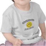 Sonrisa si usted ama el ser judío camisetas