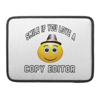 sonrisa si usted ama un redactor de copia fundas para macbook pro