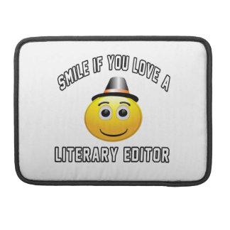 sonrisa si usted ama un redactor literario funda macbook pro