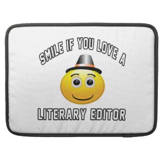 sonrisa si usted ama un redactor literario fundas macbook pro