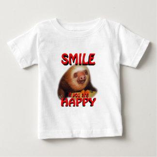 sonrisa si usted es feliz t-shirts